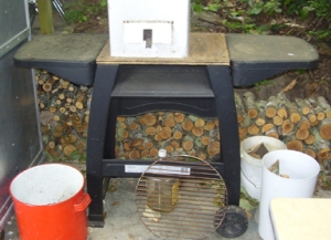 carmen s clever wood stove conversion the fiercely frugal savage