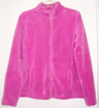 I have two plush jackets: one black and one radiant orchid.